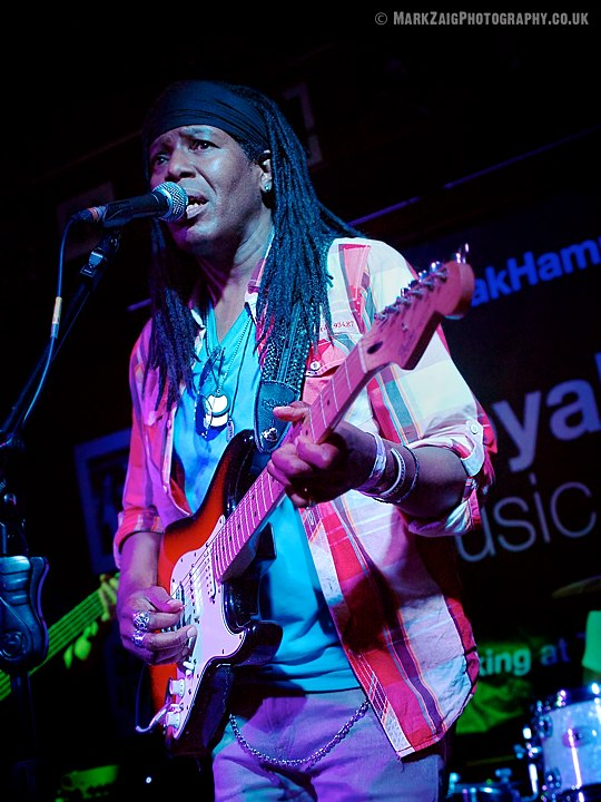 Funk, rock, blues, soul and reggae at the Royal Oak in Hampton